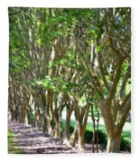 Norfolk Botanical Garden 5 Fleece Blanket