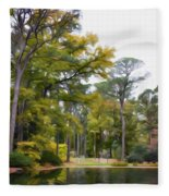 Norfolk Botanical Garden 6 Fleece Blanket