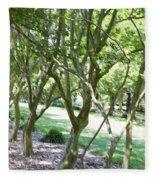 Norfolk Botanical Garden 7 Fleece Blanket