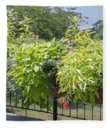 Norfolk Botanical Garden 8 Fleece Blanket