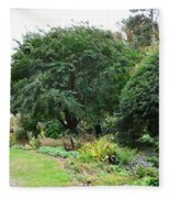 Norfolk Botanical Gardens 10 Fleece Blanket