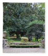 Norfolk Botanical Gardens 7 Fleece Blanket