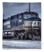Norfolk Southern #8960 Engine II Fleece Blanket