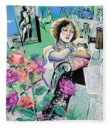 Norma Shearer Fleece Blanket