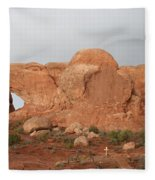 North And South Window Arches Np Fleece Blanket