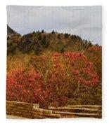 North Carolina Beauty Fleece Blanket