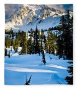 North Cascades Winter Fleece Blanket