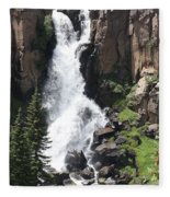 North Clear Creek Falls Fleece Blanket