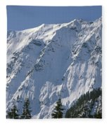 1m4443-north Face Of Big Four Mountain Fleece Blanket