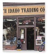 North Idaho Trading Company Fleece Blanket