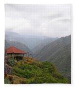 North Maui Scenery Fleece Blanket