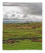 North Of The Wall Fleece Blanket