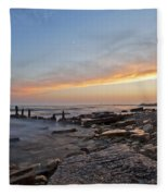 North Point Sunset Fleece Blanket