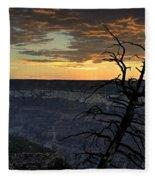 North Rim Dawn Fleece Blanket