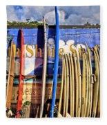 North Shore Surf Shop Fleece Blanket