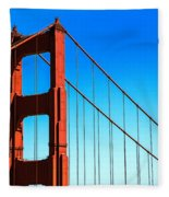 North Tower Golden Gate Fleece Blanket