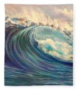 North Whore Wave Fleece Blanket