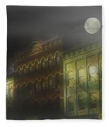 Northampton By Moonlight Fleece Blanket