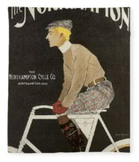 Northampton Cycle 1899 Fleece Blanket