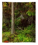 Northern Forest 1 Fleece Blanket