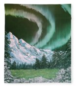 Northern Lights - Alaska Fleece Blanket