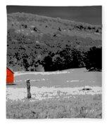 Northern Michigan Farm Sc Fleece Blanket