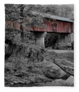 Northfield Falls Bridge Fleece Blanket