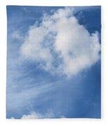 Northward Blowing Fleece Blanket