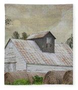 Nortonville Kansas Fleece Blanket
