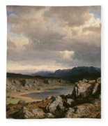 Norwegian Highlands Fleece Blanket