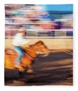 Norwood Colorado - Cowboys Ride Fleece Blanket