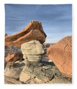 Nose To The Grindstone Fleece Blanket
