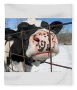 Nosy Fleece Blanket