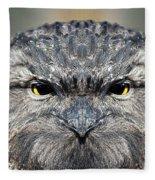 Not A Appy Bird Fleece Blanket