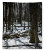 Not Spring Yet Fleece Blanket