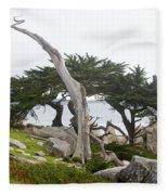 Not The Ghost Tree Fleece Blanket