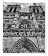 Notre Dame Fleece Blanket
