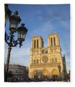 Notre Dame Tourists Fleece Blanket