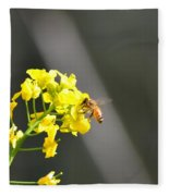Nourished By Nature Fleece Blanket