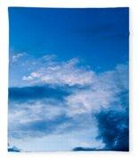 November Clouds 002 Fleece Blanket