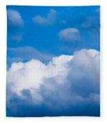 November Clouds 007 Fleece Blanket
