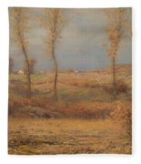November Morning Fleece Blanket