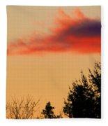 November Sunset IIi Fleece Blanket