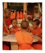 Novice Monks Fleece Blanket