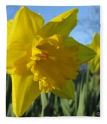 Now That's A Daffodil Fleece Blanket