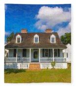 Nps Historic Site Fleece Blanket