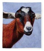 Nubian Red Fleece Blanket