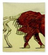 Nuclear Buffalo Fleece Blanket