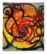Nuclear Fusion Fleece Blanket