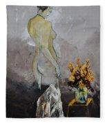 Nude 573111 Fleece Blanket